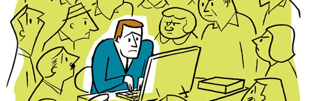 Nederlandse kantoormedewerkers ervaren veel privacy op de werkplek