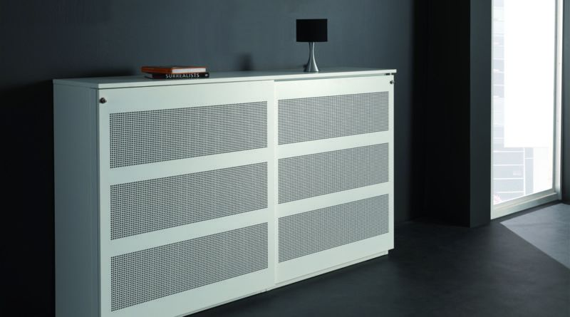 Kubo kast: een archiefkast, scheidingswand en akoestisch paneel in één