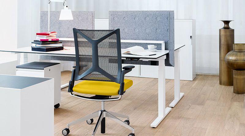 Kom tot rust op kantoor met bureaustoel yoga