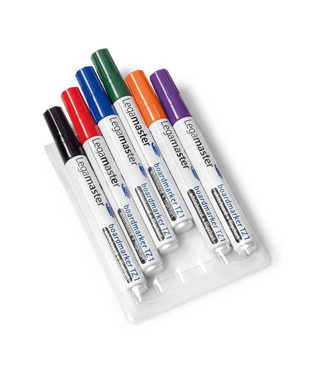 Legamaster Whiteboard markers 6 stuks