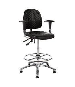 Inofec Werkplaatsstoel InoW13 54-80cm met armleggers