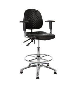 Werkplaatsstoel InoW13 54-80cm met armleggers