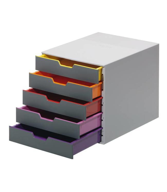 Ladebox Varicolor A4 met 5 laden