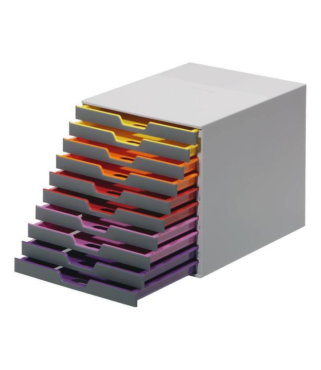 Ladebox Varicolor A4 met 10 laden