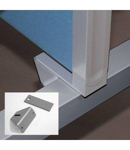 Montageset opzetwanden InoFlex bureaus dubbel/bench
