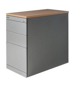 Ladeblok Uno bureauhoog 3 laden + pennenlade