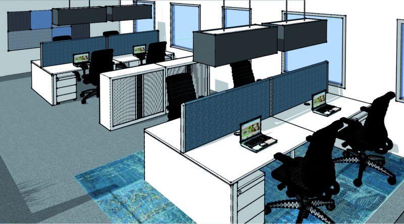 Trend alert: indigo op kantoor