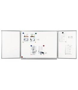 Whiteboard 5-vlaks Pro (geëmailleerd)