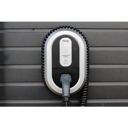 Ratio EV Laadstation type 2, 16A, 3 fase met coiled laadkabel