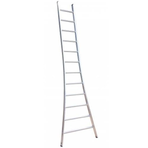 MAXALL® Enkele ladder uitgebogen pro 1x10 sport