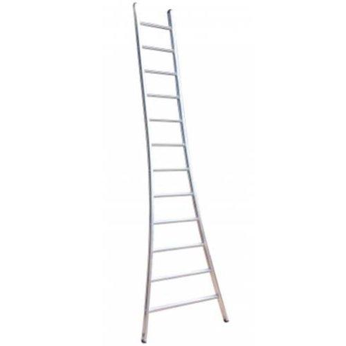 MAXALL Enkele ladder uitgebogen 1x18