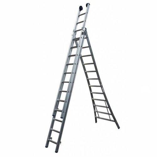 MAXALL® Driedelige reformladder 3x10