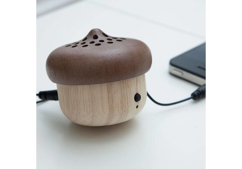 Kikkerland Acorn Speaker + Bluetooth