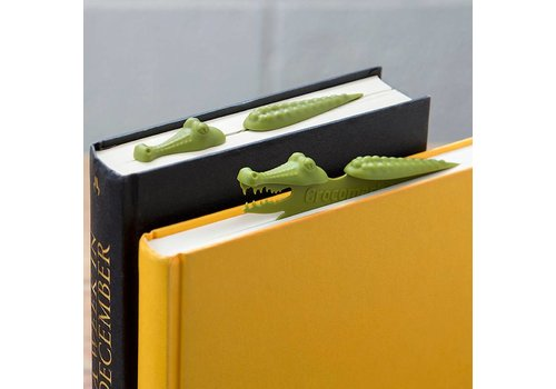 Peleg Design Crocomark Crocodile Bookmark