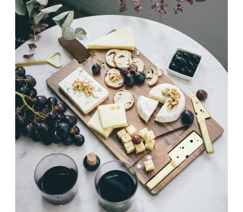 Cheeseporn Wooden cutting board