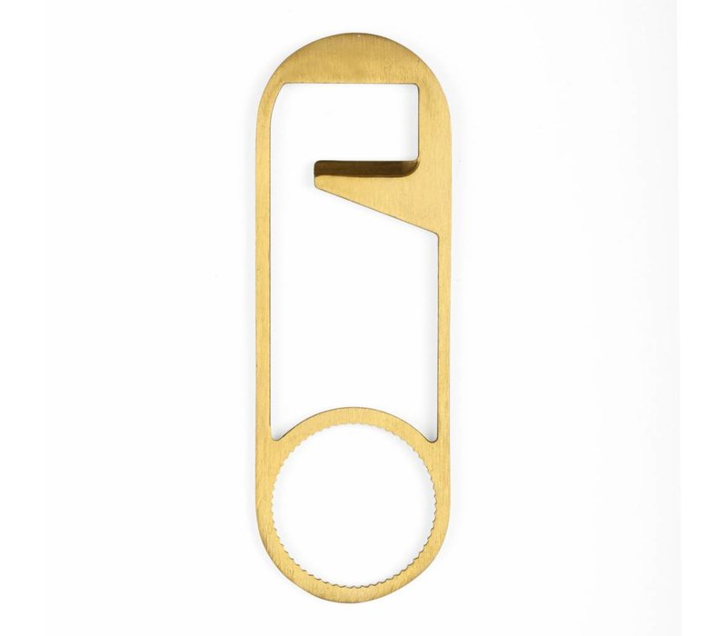 Safety Pin bottle opener