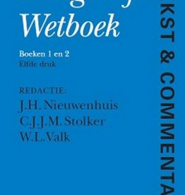 Tekst & commentaar - Burgerlijk wetboek boek 1 en 2 druk 11