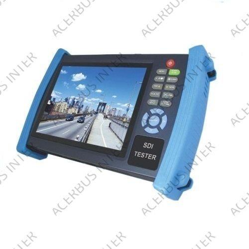 "7"" TFT testmonitor (Video,HD-SDI, Onvif, PTZ, TDR kabeltest)"