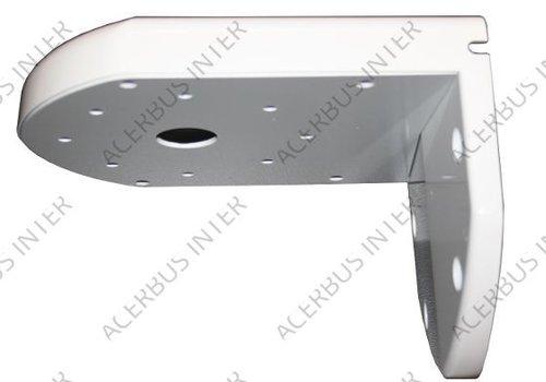 Muursteun voor Conch-dome Wit, type 120mm