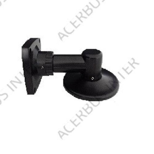 Muursteun voor Conch-dome zwart, type 93mm