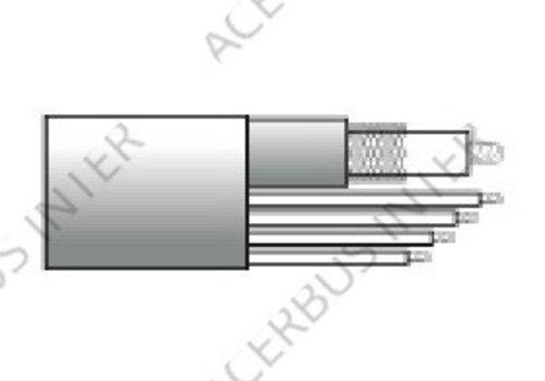 Coax Combi RG59 (RG59/Voeding-aders/data-aders) rol 100 mtr