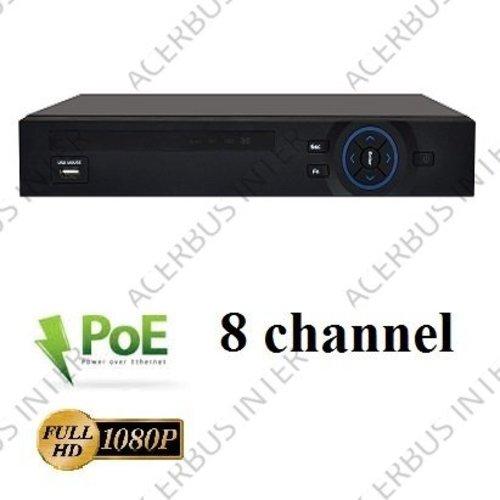 SPARK-800 NVR met POE, 1080P opname