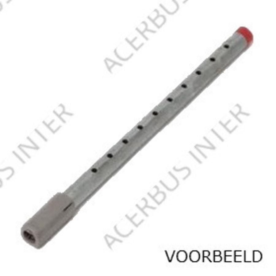 DST-10 Metalen inlaatpijp 2,4 tot 3,6 mtr (per stuk)