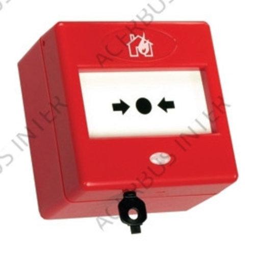 Handmelder 470/680 Ohm conventioneel FP3, compleet met led