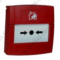 Handbrandmelder inbouw conventioneel met 470R en breekglas