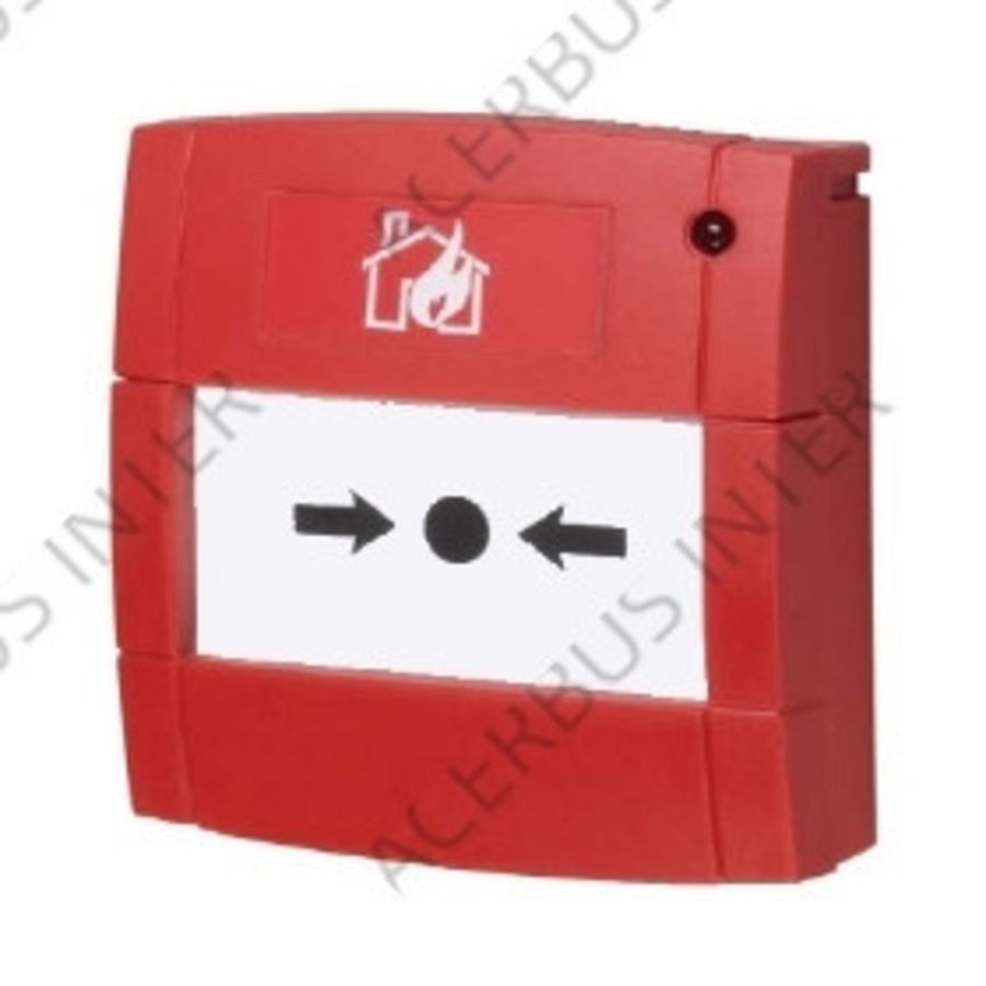 Handbrandmelder conventioneel 470R, flexelement, LED inbouw