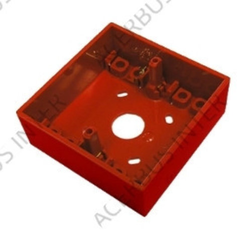 SR-P Montagedoos rood voor conventionele handmelder