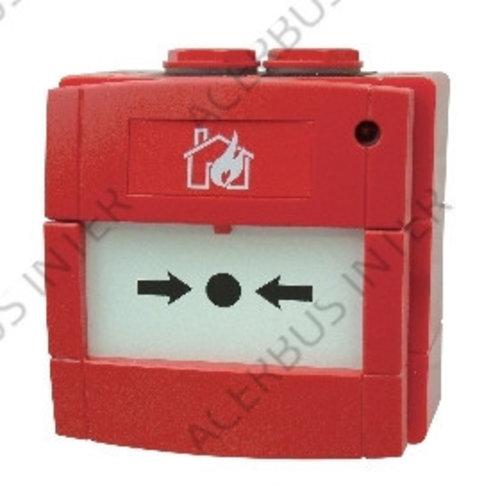 M700WCP-R-ISO Adr. handbrandmelder rood  IP67 met ISO