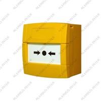 M700 KAC GEEL Adr. Handbrandmelder met flexglas inbouw ISO