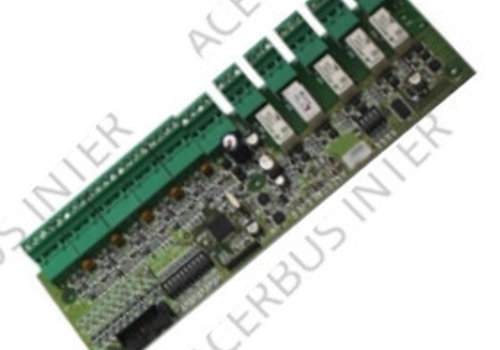 MCX-55M Adr. PCB met 5 monitor & 5 controle module
