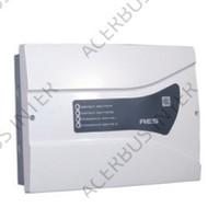 AES Voeding EN54-4, 24V-3A. 2x12Ah accu laadunit.