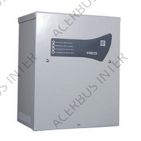 AES Voeding EN54-4, 24V-4A. 2x24Ah accu laadunit.