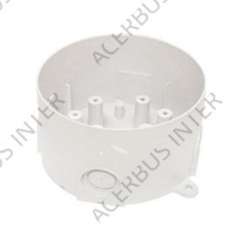 WB1 Sokkeladapter voor vochtige ruimtes wit