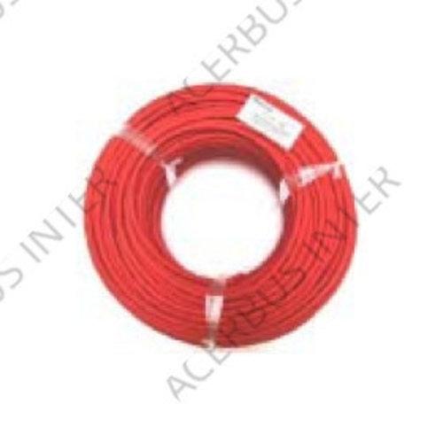 BK YR-mb 2x0,8mm rood  100 mtr Rol