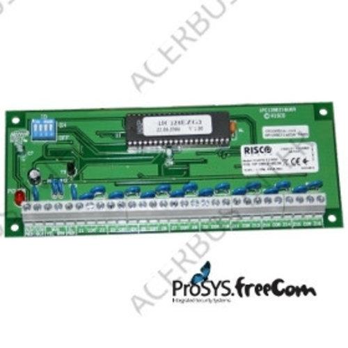 ProSYS TEOL 16-zone uitbreidingsmodule PCB