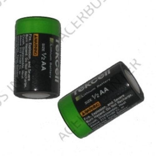 Batterij 3,6 V 1/2AA