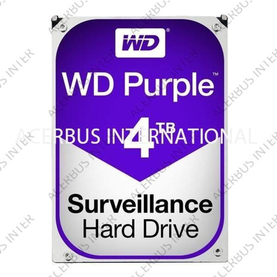 DVR Uitbreiding HDD 4TB Incl. montage