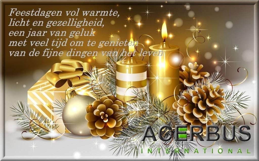 Hele fijne feestdagen en tot in 2018!