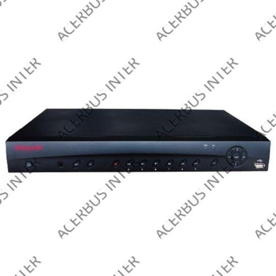 Hybride 16-kan NVR 720p @ 480 fps, 1080p @ 240 fps, io/alarmrelais