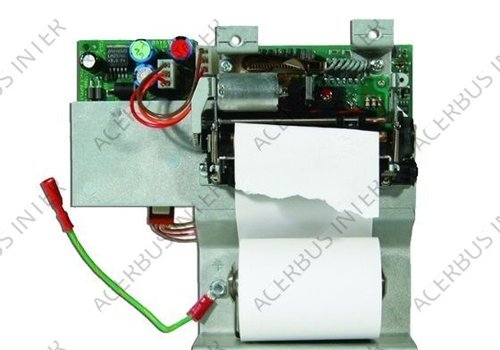 NF3000, Frontplaat inclusief printer module