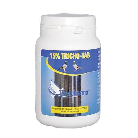 Travipharma 15% Tricho-tab 100 tab