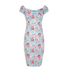 Collectif Dolores floral pencil dress
