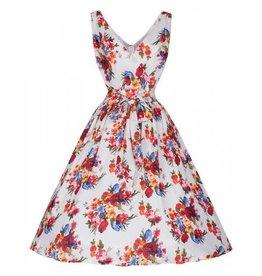 Lindy Bop Floral Josephine dress maat XXS