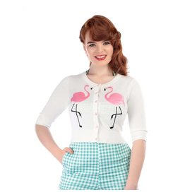 Collectif Lucy cardigan white