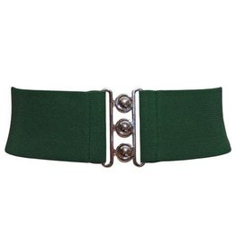 Hell Bunny Hell Bunny stretch belt - green