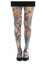 Pamela Mann Abstract fruit printed tights